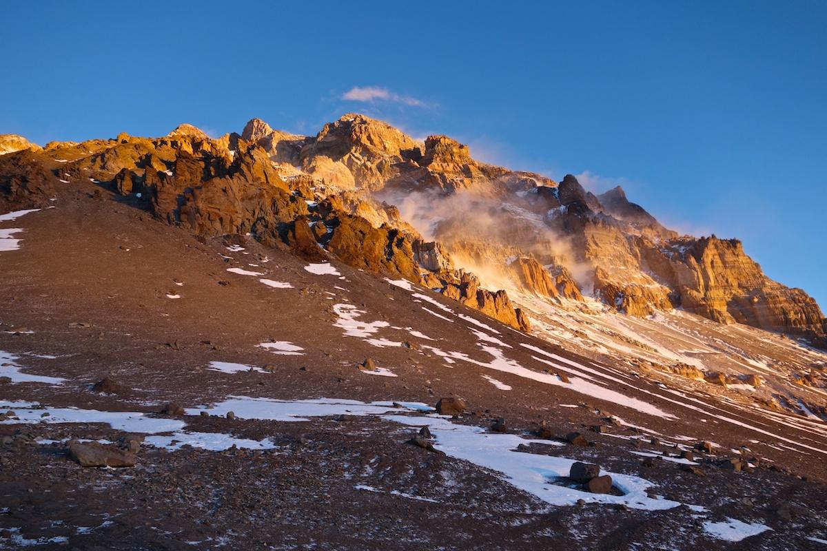 Aconcagua, 17 days