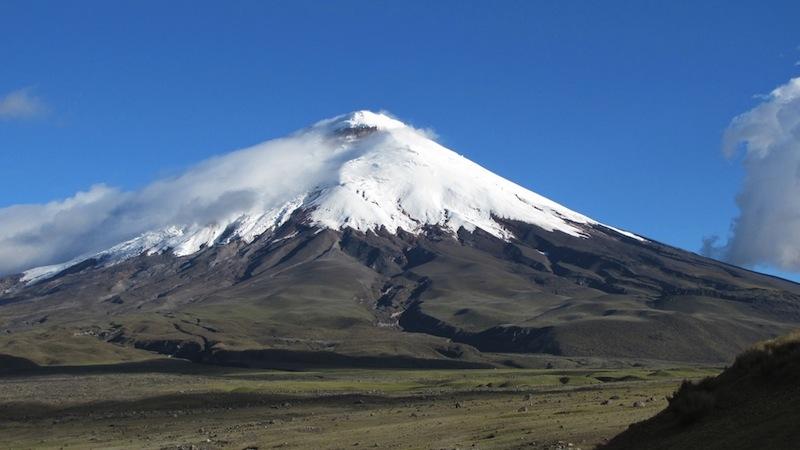 Chimborazo and Cotopaxi