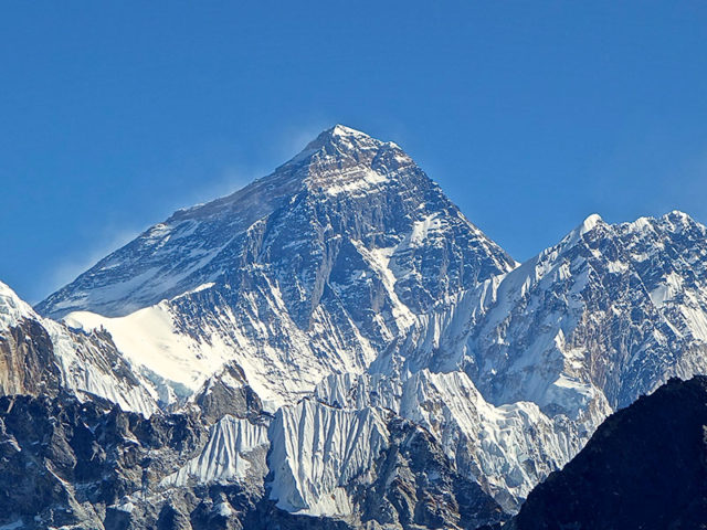 climb Everest