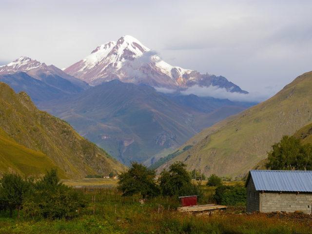 climb Kazbek
