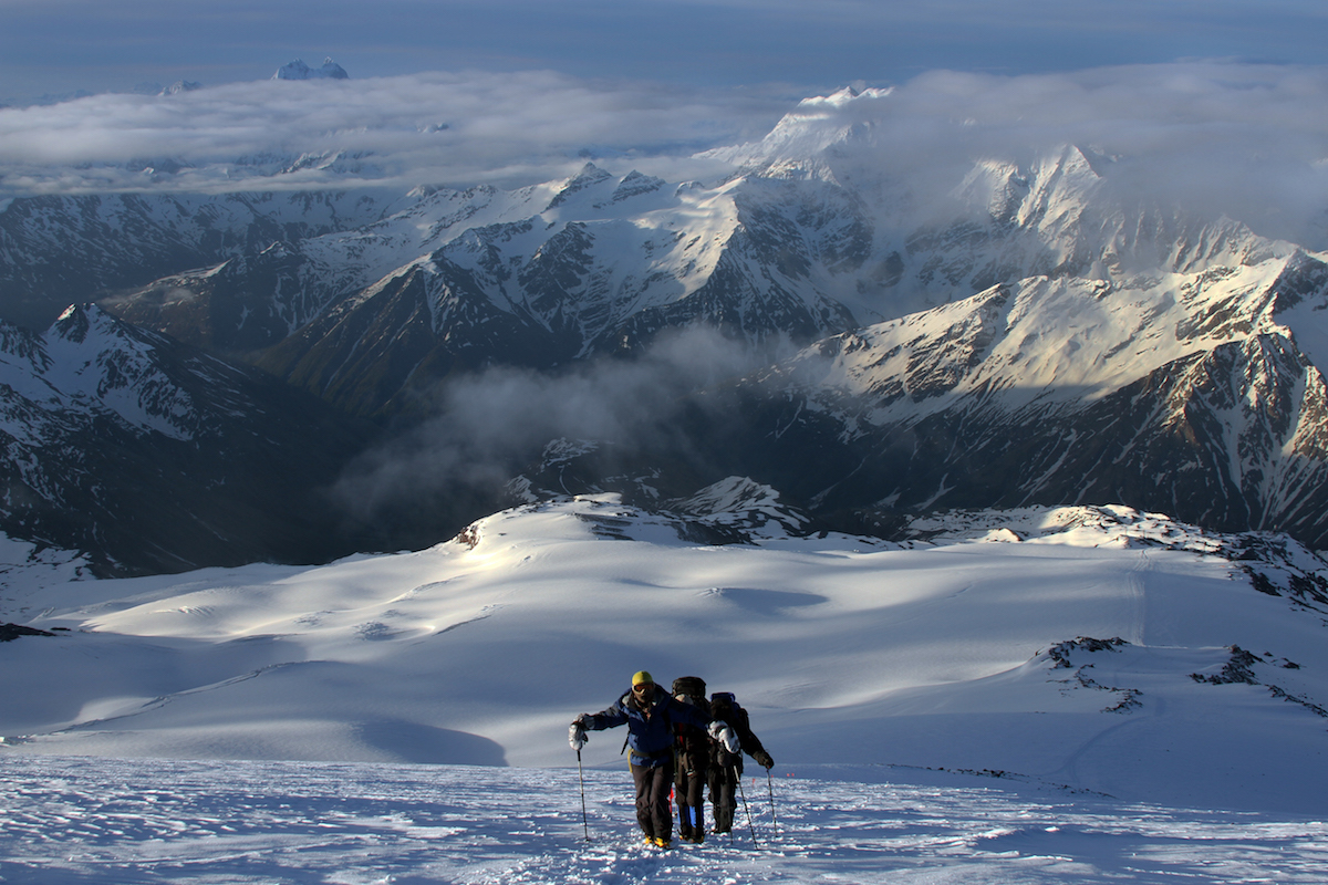 Elbrus Climb from the South, 9 days