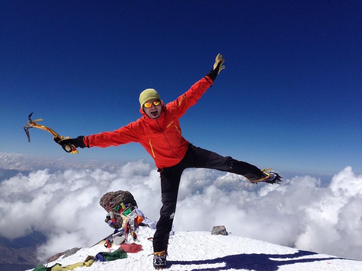 trainings for Elbrus climbing