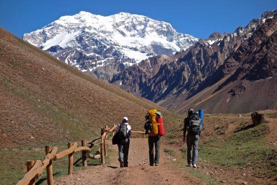climb Aconcagua, 7 days