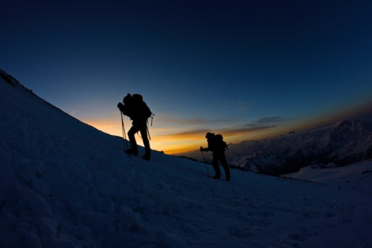 Two Summits of Elbrus