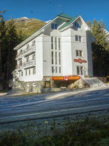 Our hotel, Elbrus