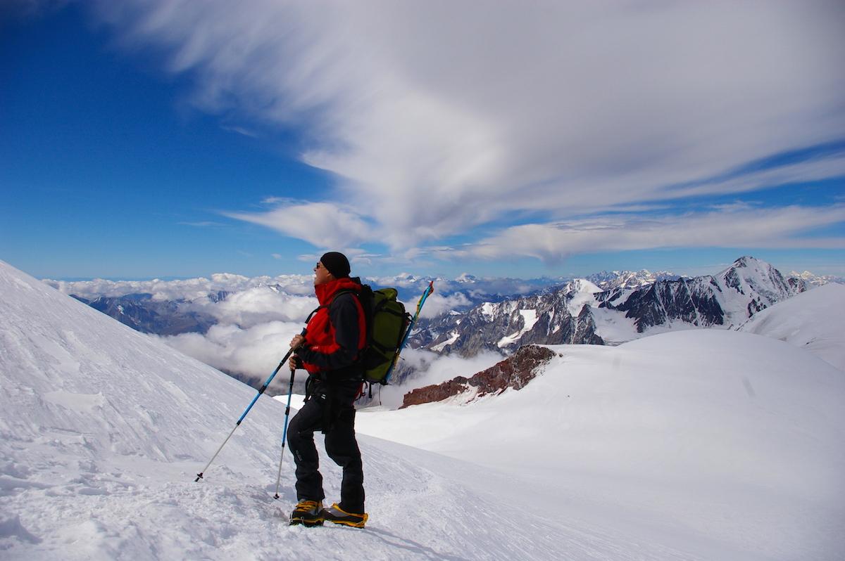 Kazbek+Elbrus