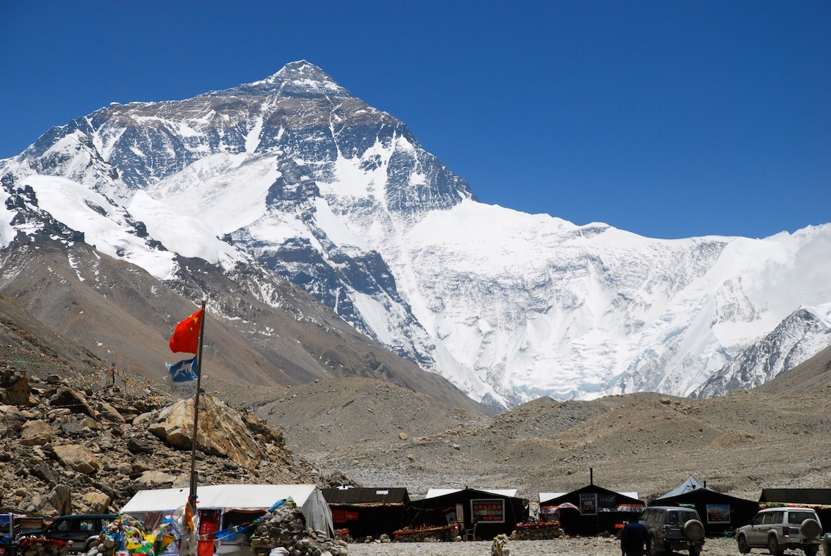 Everest. Tibet.